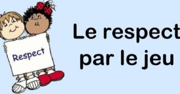 Jeux/activités sur le respect