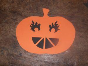bricolage citrouille halloween