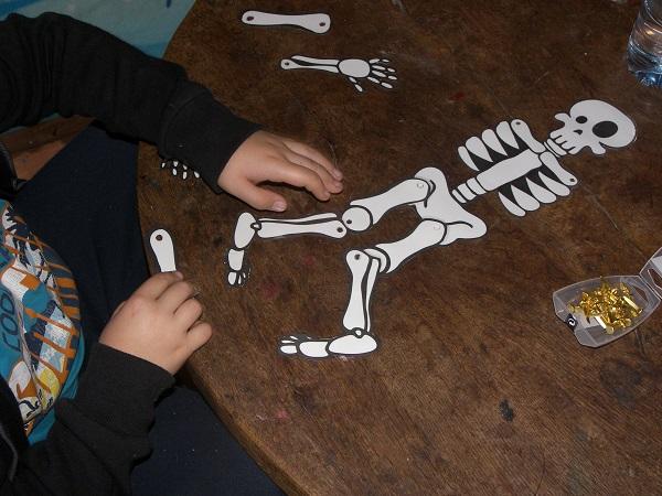 Exceptionnel Squelette articulé : un modèle à imprimer SN91