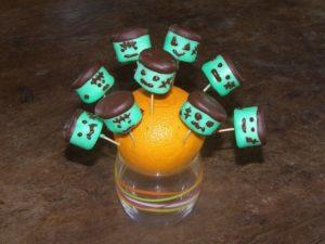 fabriquer des sucettes pour halloween