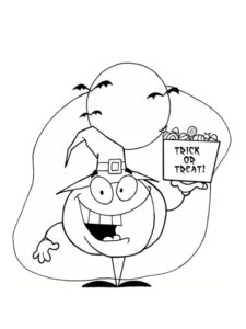 dessins citrouille