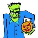 Monstres d'Halloween : les coloriages