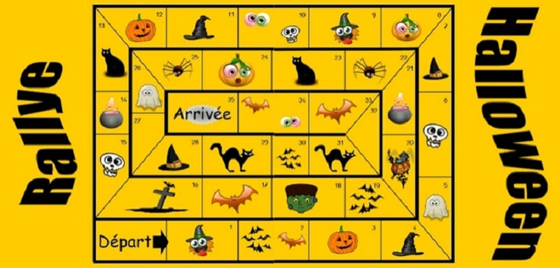 Rallye halloween grand jeu for Jeu adulte exterieur