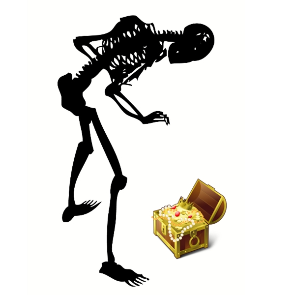 Jeux sur le squelette - Fabriquer un sac pour halloween ...