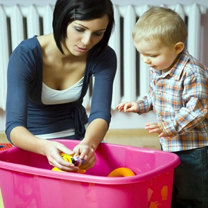 Comment encourager les tout petits à ranger