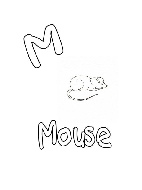 coloriage mot anglais
