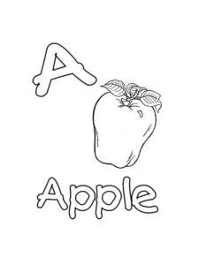 coloriages alphabet anglais