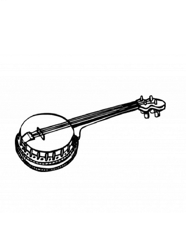 Coloriages instruments de musique - Photo d instrument de musique ...