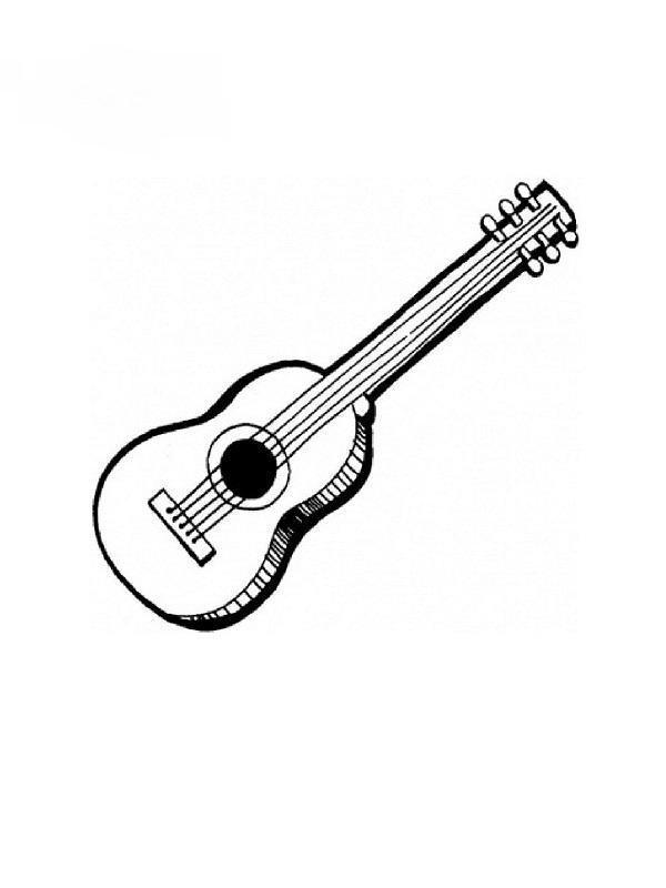 Fabuleux Coloriages instruments de musique FE16