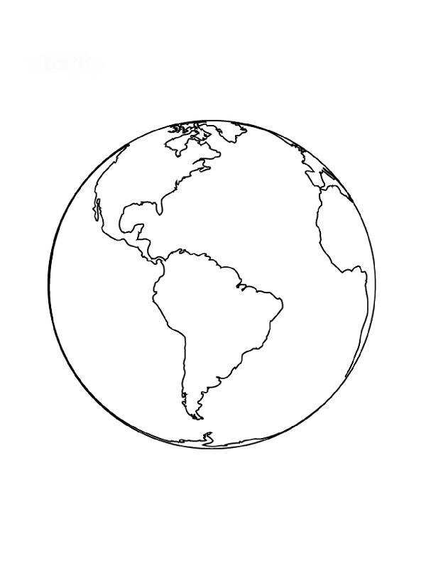 Coloriages Planète à Imprimer Gratuitement