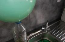 2 expériences avec un ballon et une bouteille