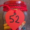 52 mots d'amour dans un bocal