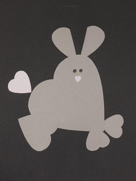 Image Avec Des Coeur animaux avec des cœurs : bricolage saint valentin !