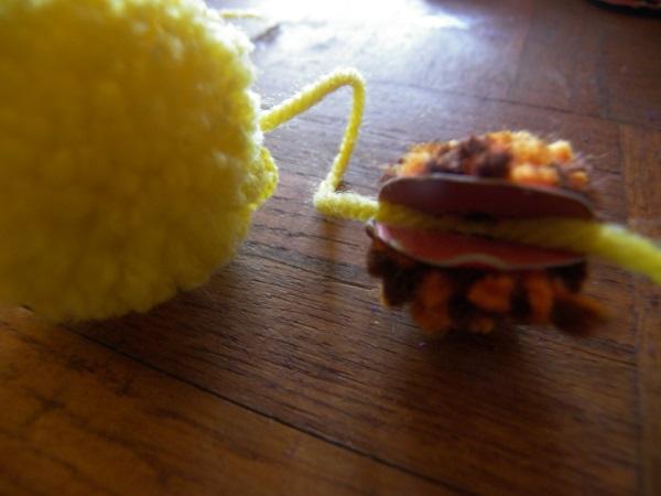 bricolage pompon