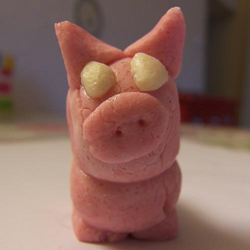 cochon pâte à sel
