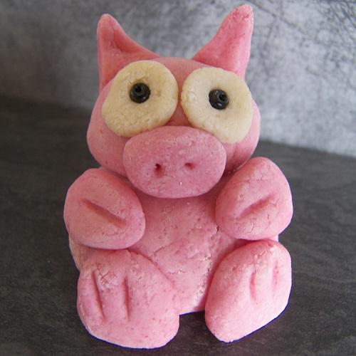 cochon en pâte à sel