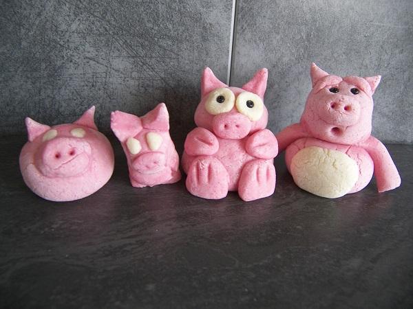 cochons en pâte à sel