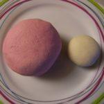 pâte à sel colorée