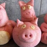 Comment faire un cochon en pâte à sel