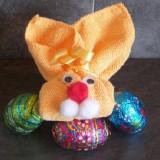 Un lapin de Pâques tout mignon