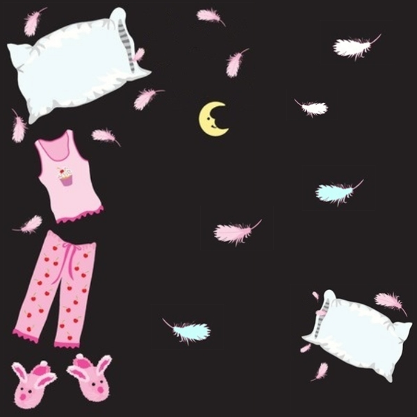 Beliebt Jeux pour une soirée pyjama OI33