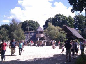 village gaulois radôme