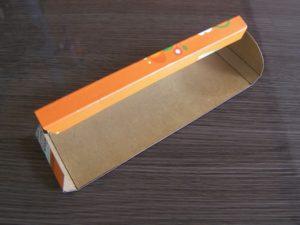 trousse à crayon en carton