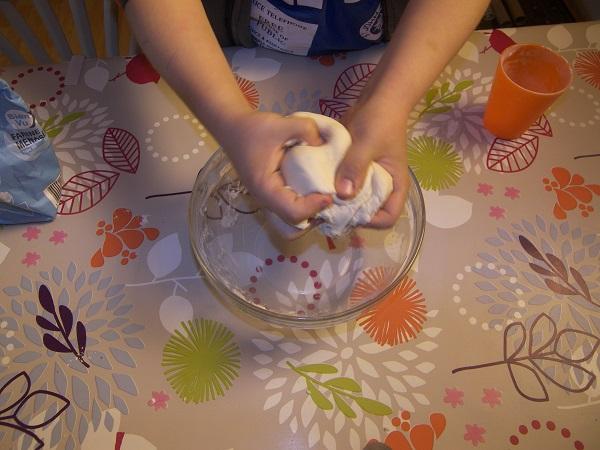 recette rapide pâte à modeler