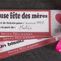 Carnet de tickets à imprimer pour les mamans