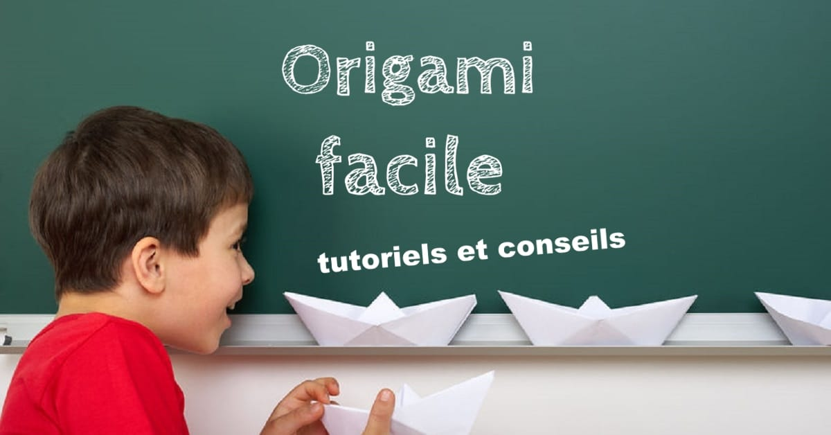 origami facile tutoriels vid os et conseils. Black Bedroom Furniture Sets. Home Design Ideas