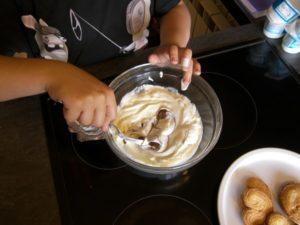 dessert banane nutella