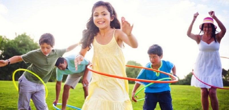 Jeux de Hula Hoop pour ados