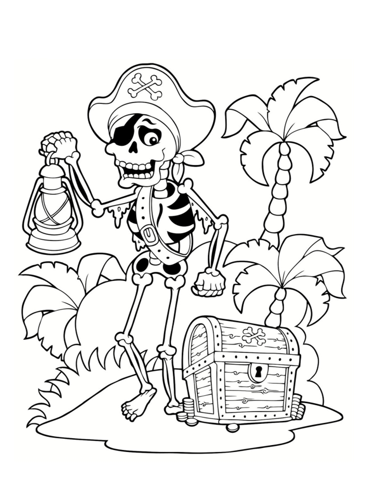 Coloriage pirate 25 dessins imprimer - Dessins pirates ...