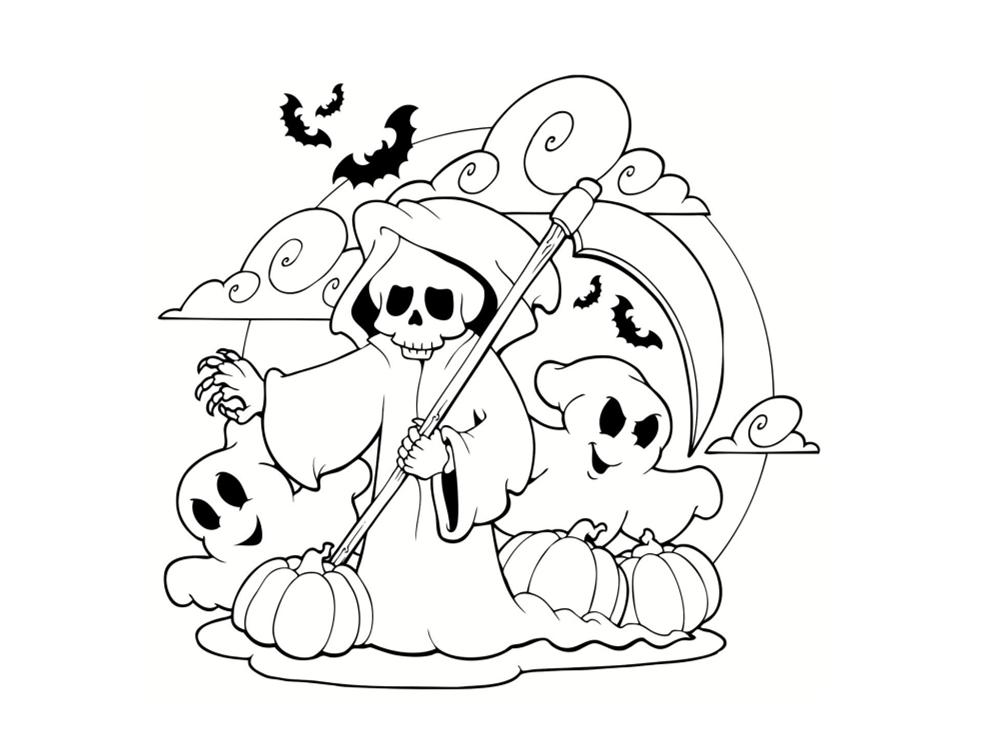 dessin de fantome