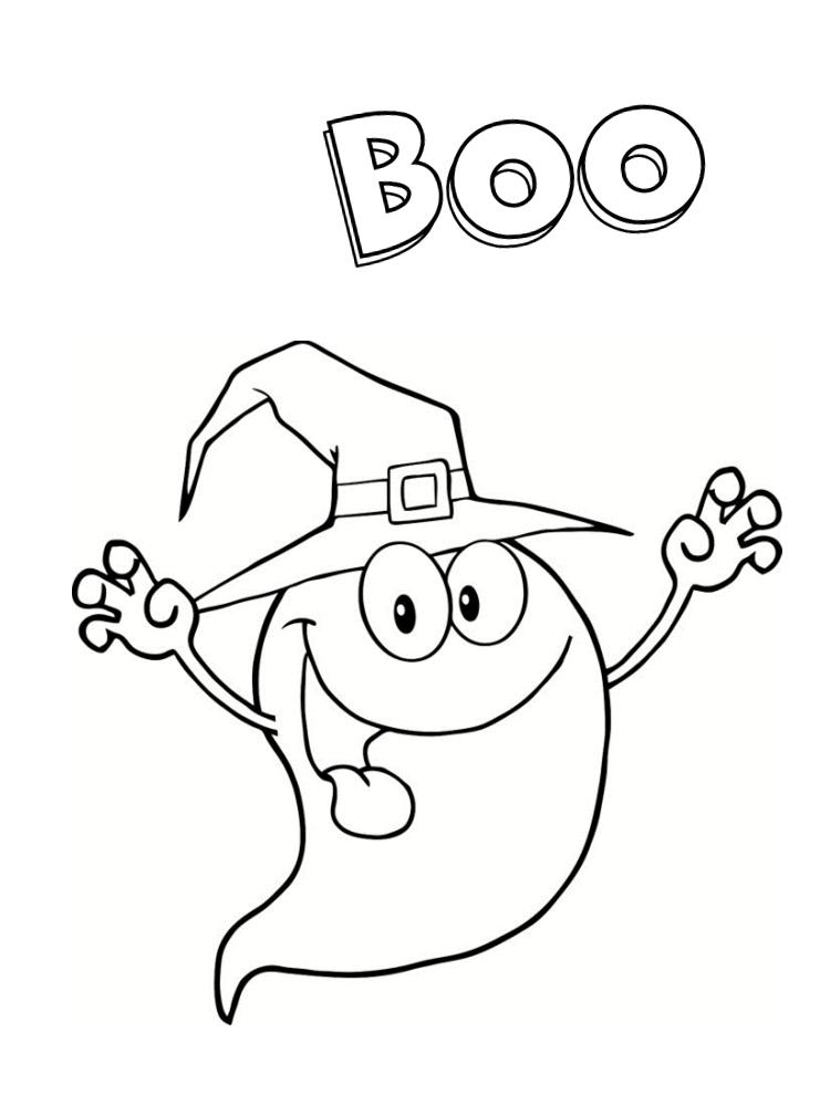 Coloriage fant me 21 dessins imprimer - Coloriage halloween fantome ...