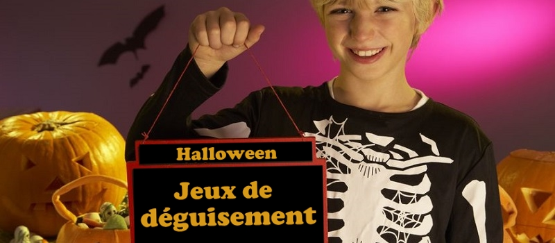 jeux de d guisement pour halloween. Black Bedroom Furniture Sets. Home Design Ideas