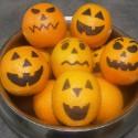 Les oranges d'Halloween