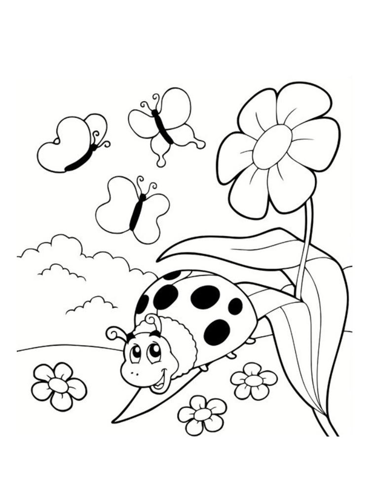 Coloriage coccinelle 20 mod les imprimer - Modele de papillon a imprimer ...