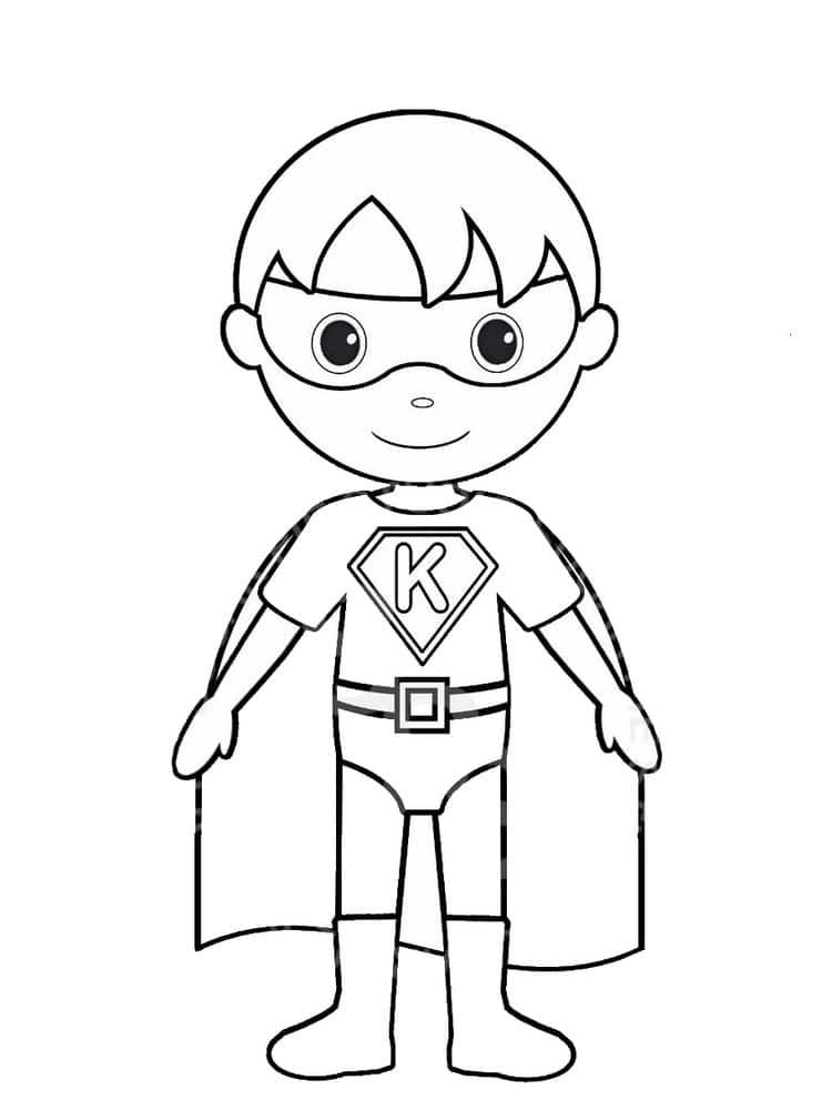 Coloriage Super Heros 25 Modeles A Imprimer