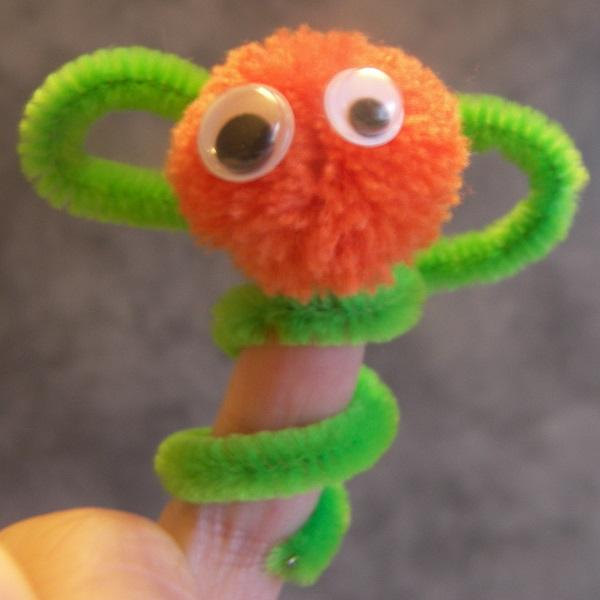 marionnette à doigt
