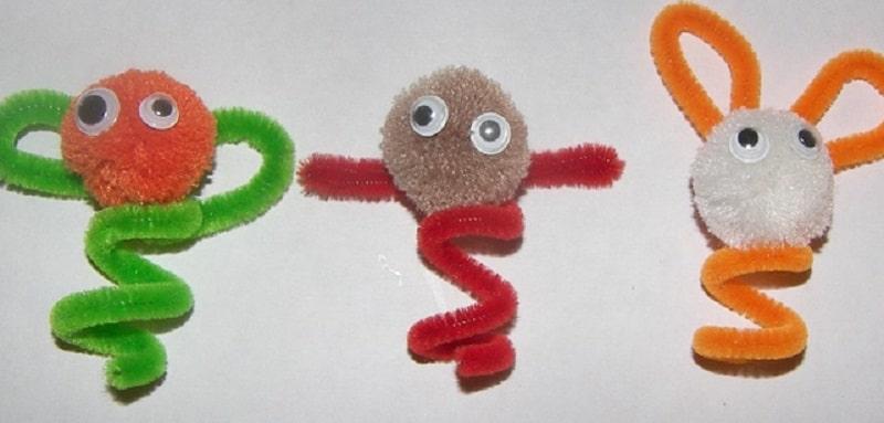 Marionnettes à doigt faciles