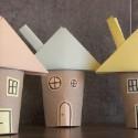 Maison en rouleau de papier toilette