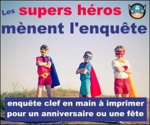 enquête super héros