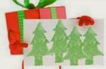 Carte de Noël maison