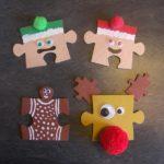 décorations noël puzzle
