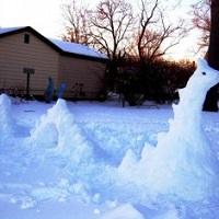 faire un monstre de neige