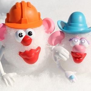 créations dans la neige