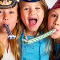 Fêter la Saint Sylvestre avec des enfants