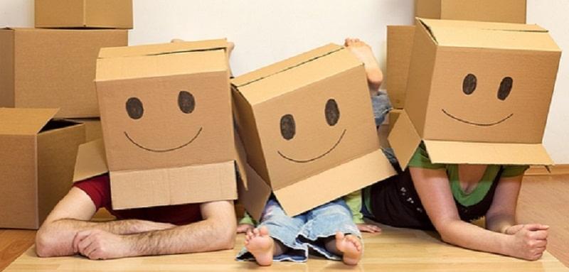Un déménagement amusant pour les enfants