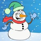 Coloriage bonhomme de neige : 20 dessins à imprimer gratuitement